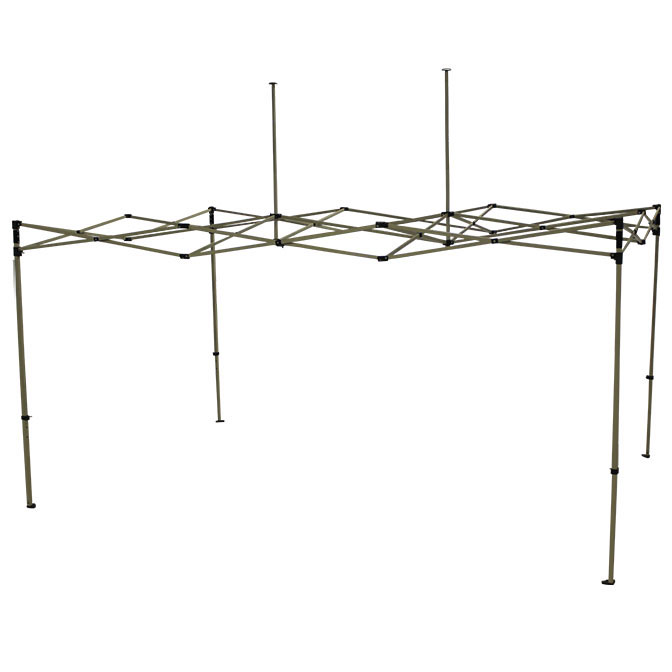 10 39 x 15 39 folding steel frame for pop up canopy for Steel frame tents