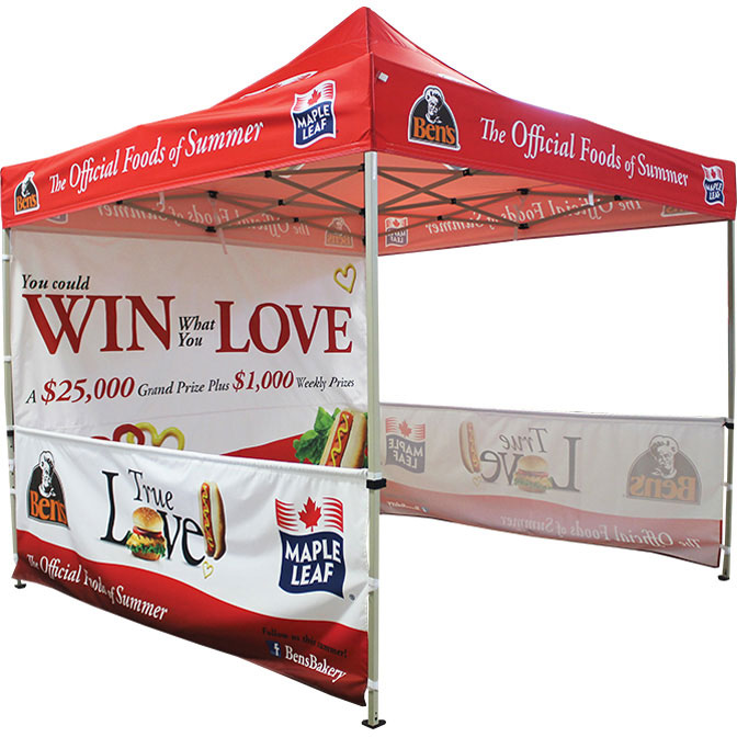 Pop Up Tent Printing Packages  sc 1 st  Custom Printed Tents & 10 x 10 Pop Up Tent Printing Packages