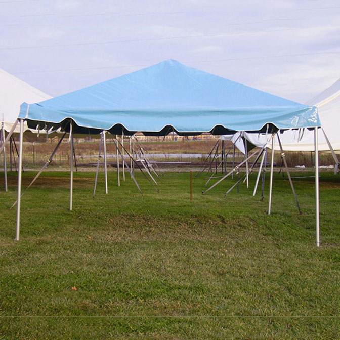 15 x 15 classic series frame tent 1 piece tent top complete