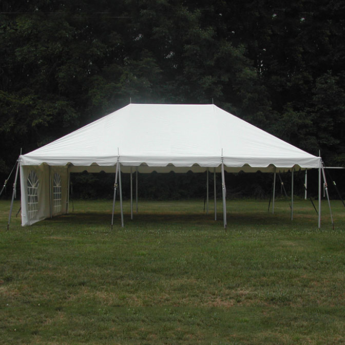 20u0027 x 30u0027 Classic Series Pole Tent 1 Piece Tent Top Complete & 20u0027 x 30u0027 One Piece Classic Series Pole Tent