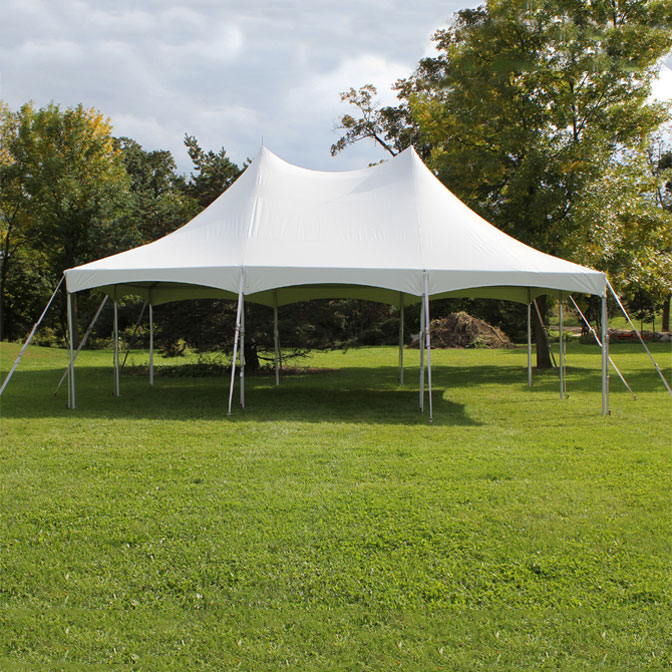 20' x 30' One Piece Master Series High Peak Frame Tent