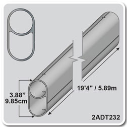 "19'4"" - Aluminum Double Tube"