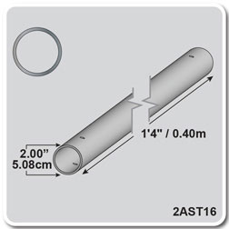 "1'4"" - Aluminum Single Tubing"
