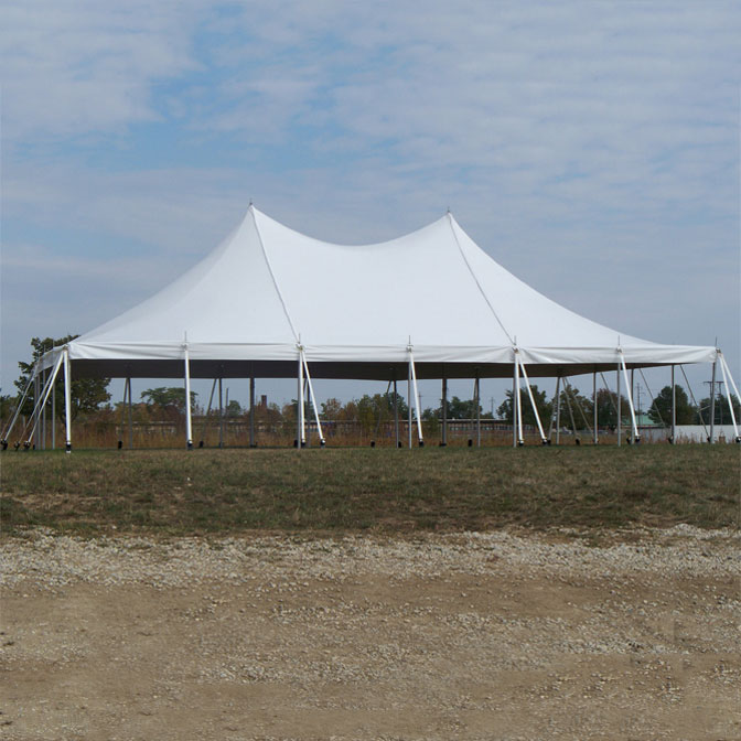 30u0027 x 45u0027 Premiere II Series High Peak Pole Tent Sectional Tent Top Complete & Premiere II Series Engineered High Peak Pole Tent - 30 x 45 Large ...