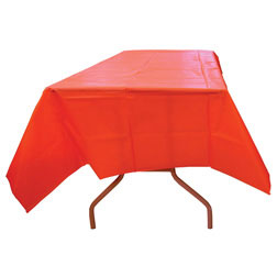 54'' x 108'' Heavy Duty Plastic Table Covers