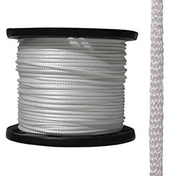 "7/32"" Polyester Sidewall Rope"