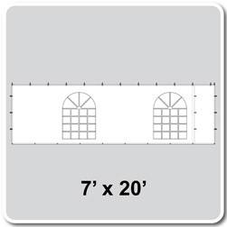 7x20 Cathedral Window Sidewall