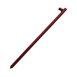 "18"" x 5/8"" Red Tent Pin"