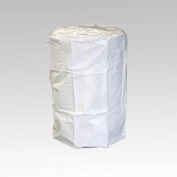 White Pull Over Drum Covers