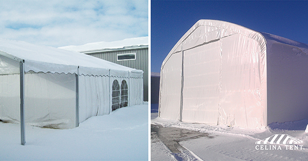 Long-Term Fabric Shelters for Winter Use