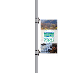 "24"" Wide Boulevard Banners"