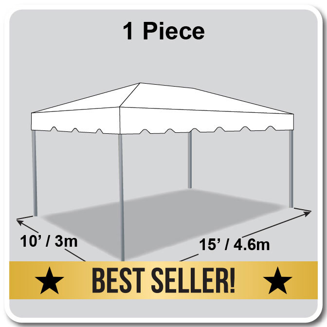10\' x 15\' One Piece Classic Series Frame Tent