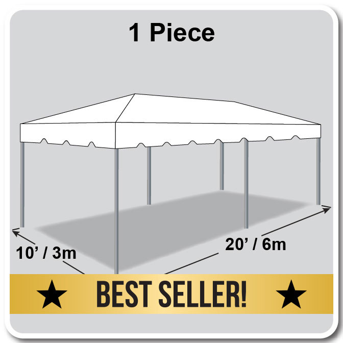 10\' x 20\' One Piece Classic Series Frame Tent