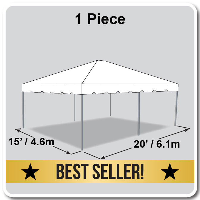 15\' x 20\' One Piece Classic Series Frame Tent