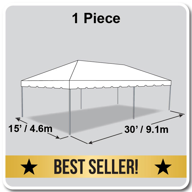 15 X 30 One Piece Classic Series Frame Tent