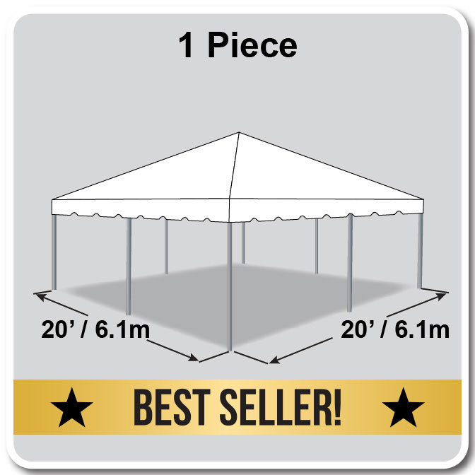 20 X 20 Classic Series Frame Tent Party Package