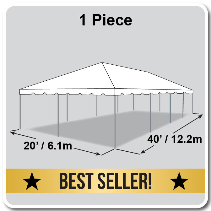 20\' x 40\' Classic Series Frame Tent Party Package