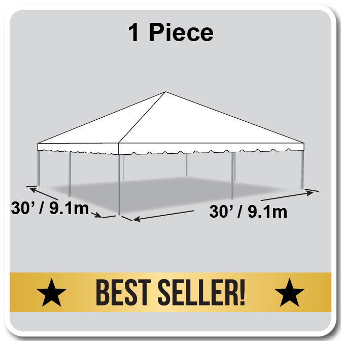30 X 30 One Piece Classic Series Frame Tent