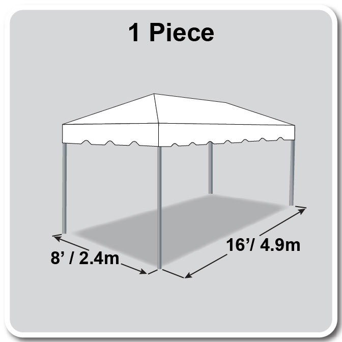 8\' x 16\' Classic Series Frame Tent