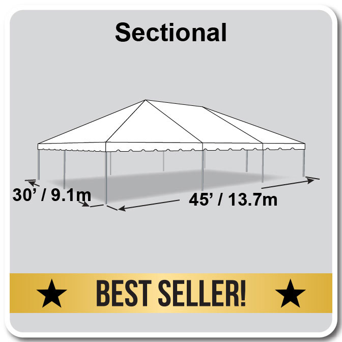 classic series frame tent 30 x 45 event tent. Black Bedroom Furniture Sets. Home Design Ideas