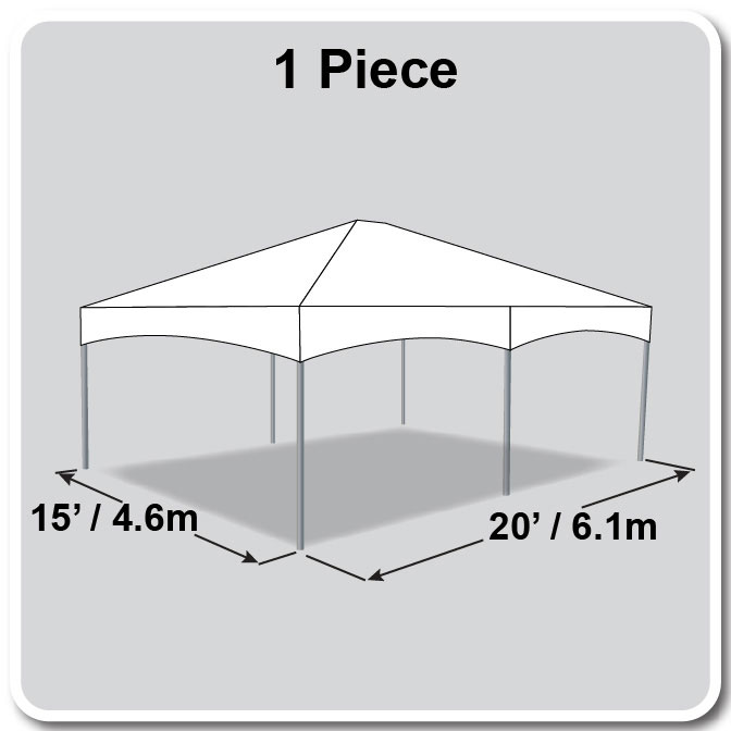 Master Series Frame Tent - 15 x 20 Tent for Sale