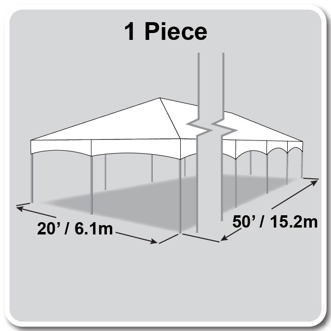Master Series Frame Tent - 20 x 50 Tent for Sale