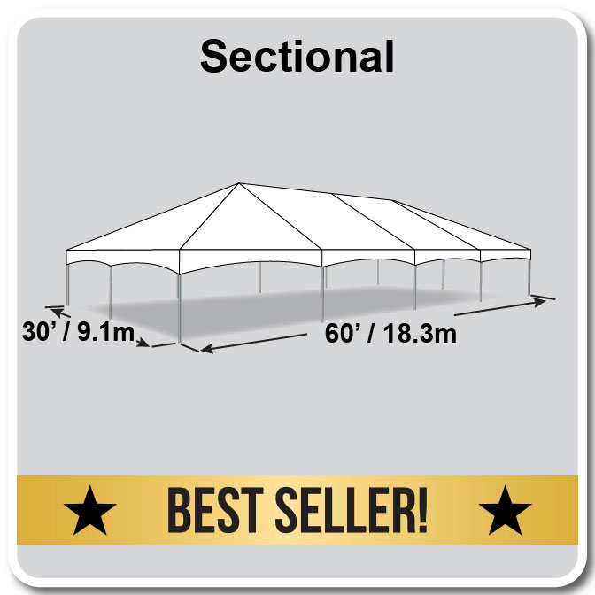 Master Series Frame Tent - 30 x 60 Tent for Sale