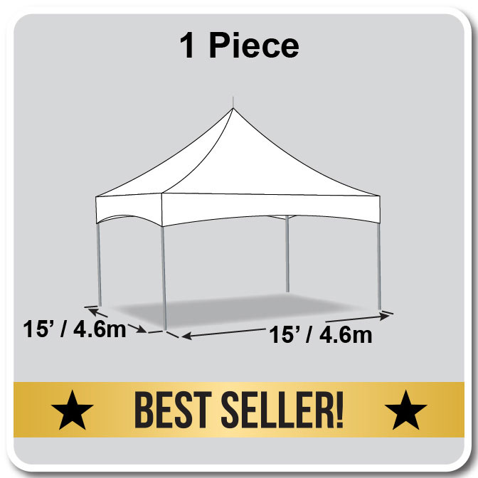 15u0027 x 15u0027 Pinnacle Series High Peak Frame Tent / Cross Cable Marquee Complete  sc 1 st  Celina Tent & 15u0027 x 15u0027 Pinnacle Series High Peak Frame Tent