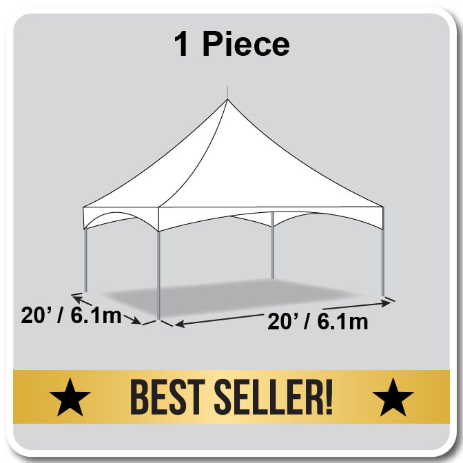 20u0027 x 20u0027 Pinnacle Series High Peak Frame Tent / Cross Cable Marquee Complete  sc 1 st  Celina Tent : 20 x 20 commercial tent - memphite.com