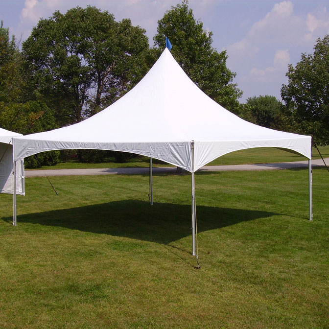 20u0027 x 20u0027 Pinnacle Series High Peak Frame Tent / Cross Cable Marquee Complete & 20u0027 x 20u0027 Pinnacle Series High Peak Frame Tent