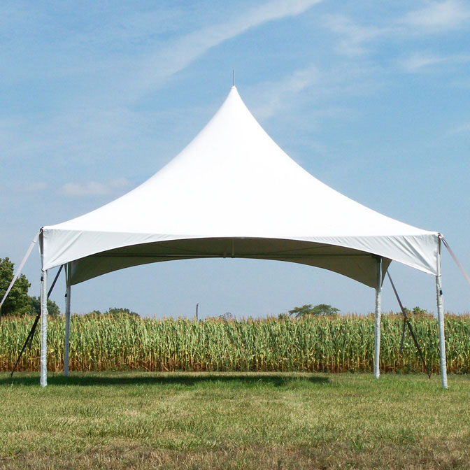 20u0027 x 20u0027 Pinnacle Series High Peak Frame Tent / Cross Cable Marquee Complete : 20 x 20 commercial tent - memphite.com