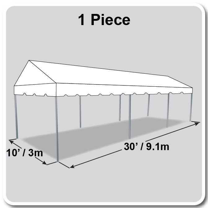 10 X 30 Classic Series Gable Frame Tent