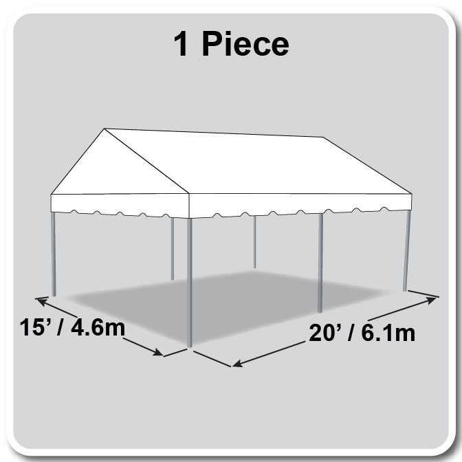 15 X 20 Classic Series Gable Frame Tent