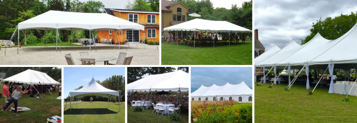 All Styles, Brands, and Sizes of Tents Available from Celina
