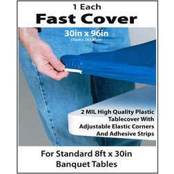 Fast Cover 30'' x 96'' Blue