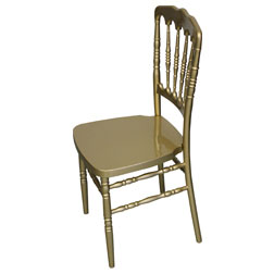 Gold Fayette Napoleon Chair