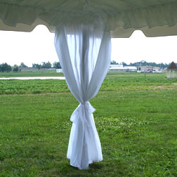 "8' x 40"" Leg Drape with Sash"
