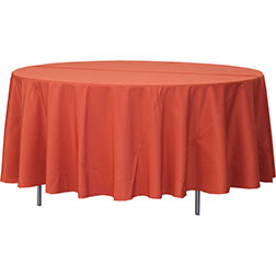 108'' Round Polyester Tablecloth