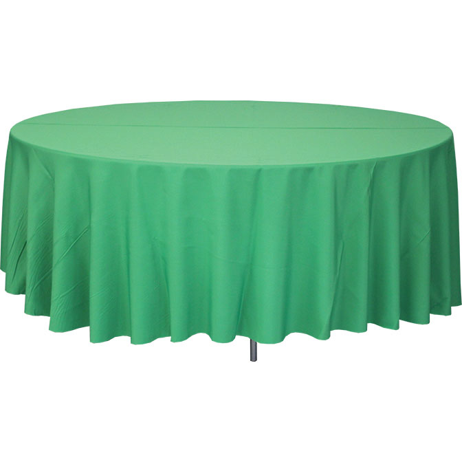 120 round tablecloths for halls churches and event settings for 120 table cloth