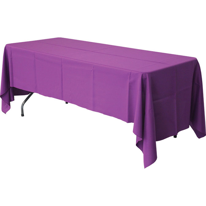 60 x 120 rectangular polyester tablecloths. Black Bedroom Furniture Sets. Home Design Ideas