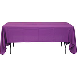 60'' x 120'' Polyester Tablecloth