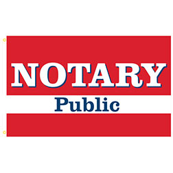 Notary Rectangle Flags