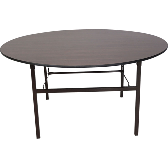 Quot round wood table