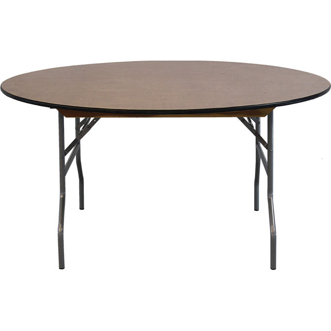 48 round wood table for banquets 48 round table seats how many