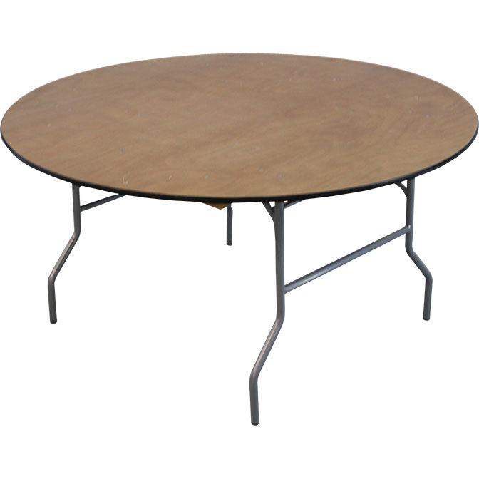 60 round wood folding table for Table cuisine 60 x 60