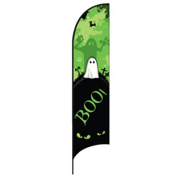 Boo Feather Flags