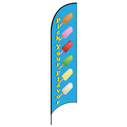 Pick Your Flavor Feather Flags
