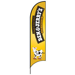 Ben & Jerry's Feather Flags
