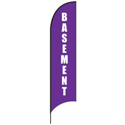 Basement Feather Flags