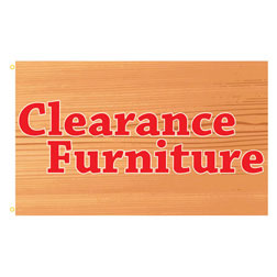 Clearance Furniture Rectangle Flags